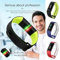Unisex Digital Display Buckle Closure Smart Chinese, English USB Charging 2h Bracelet 4h IP67 Health Wristband