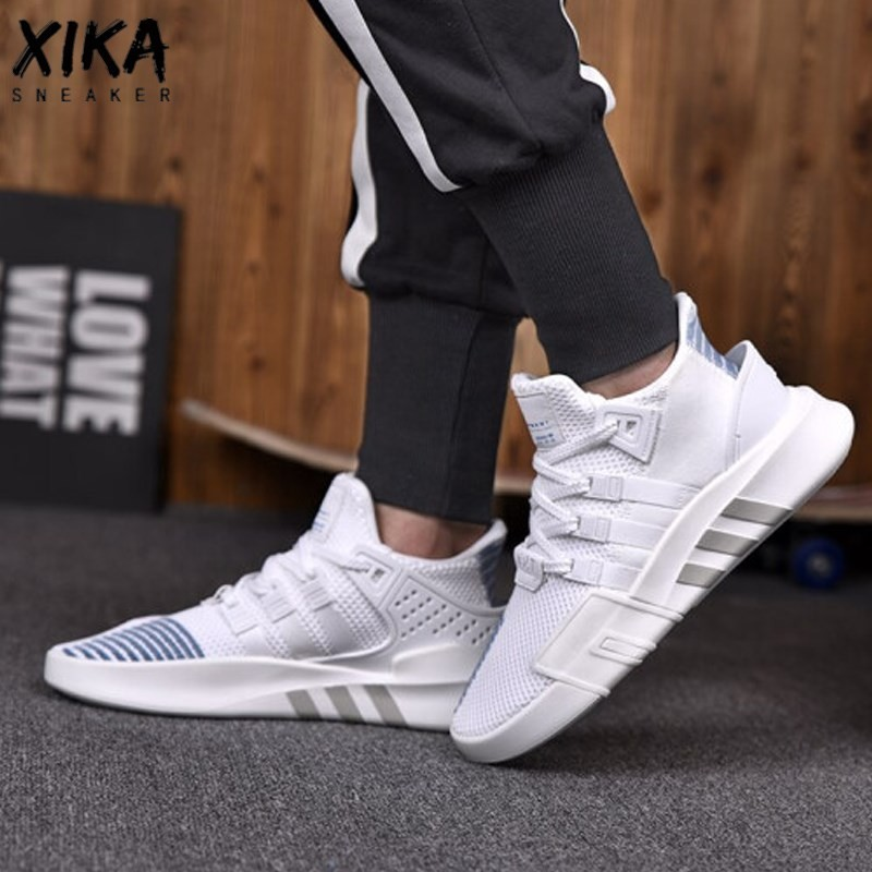 Adidas EQT BASK ADV Man Running Shoes Breathable Classic Clover Breathable Sneakers CQ2994 AC7354 4