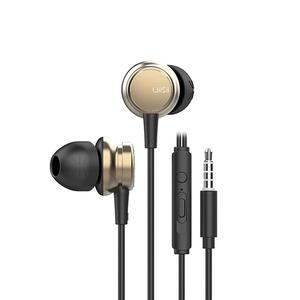 Image 2 - Portable Earphones Subwoofer E sports Game Wired Noise Reduction Dynamic Subwoofer Music Metal Earbuds With Mic Hands free Calls
