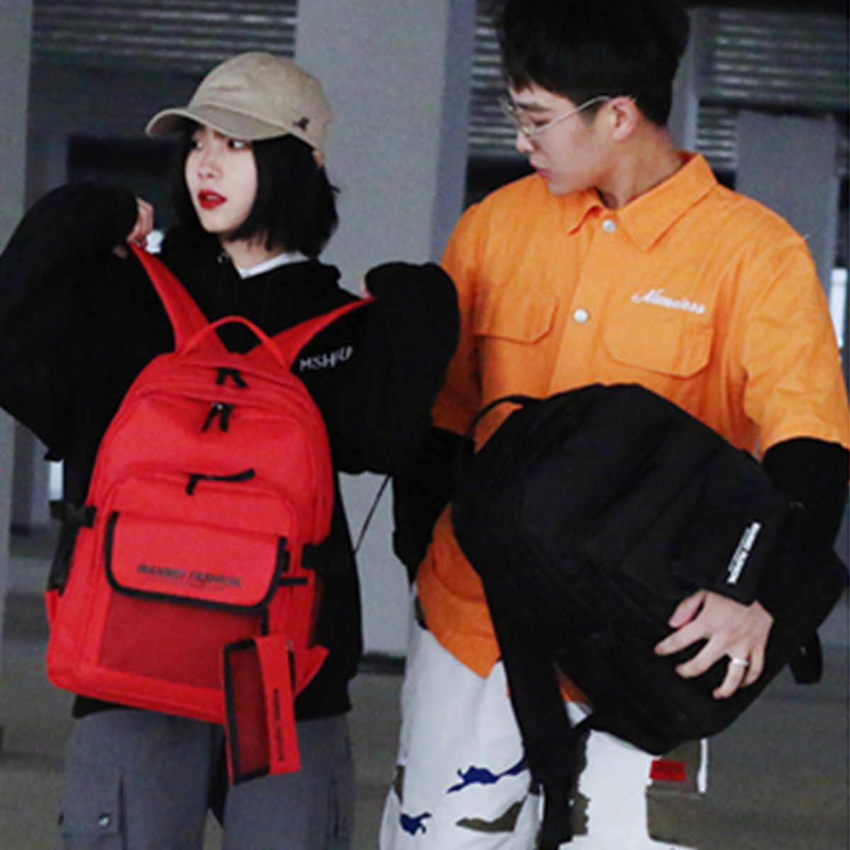 ผู้หญิงผู้ชายกระเป๋าเป้สะพายหลังแล็ปท็อปกระเป๋า Mochila Feminina Casual Satchel ขนาดใหญ่แพ็คสำหรับนักเรียนกระเป๋าเดินทาง Rucksack