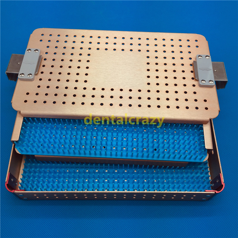 New Surgical Autoclavable Surgery Silicone Disinfection Box Tools Ophthalmic microsurgical instruments