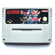 Dragon Quest I II III V VI game cartridge for pal console image