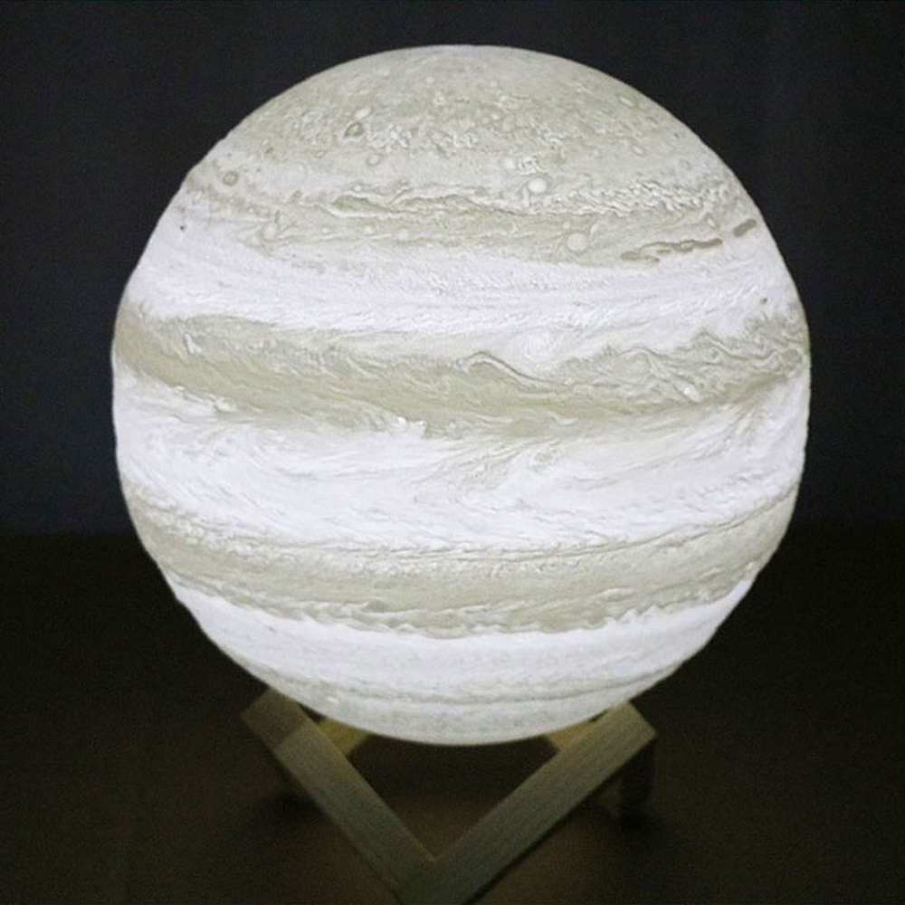Access Control Kits Self-Conscious Moon Light 3d Printed Moon Globe Lamp 2 Colors 3d Glowing Moon Lamp With Stand Touch Control Brightness Usb Charging Security & Protection