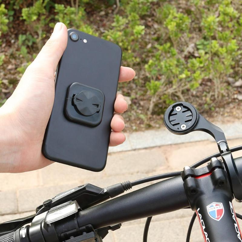 Bike Bicycle Mobile Phone Sticker Mount Phone Holder Riding Strong Adhesive Support Stand Back Button Paste Adapter for GARMIN