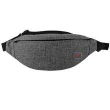 Tinyat Men Male Casual Functional Fanny Bag Waist Money Phone Belt T201 Canvas Hip Shoulder Pack