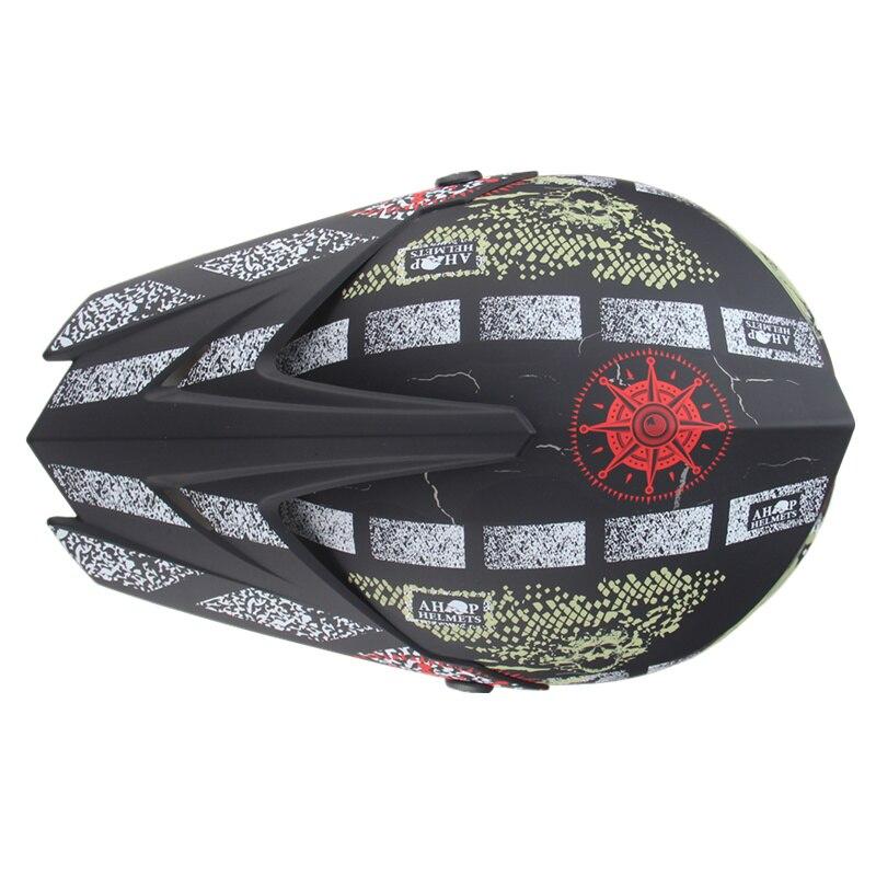 Livraison gratuite moto adulte motocross hors route casque ATV Dirt bike descente vtt DH course casque cross casque capacetes - 3