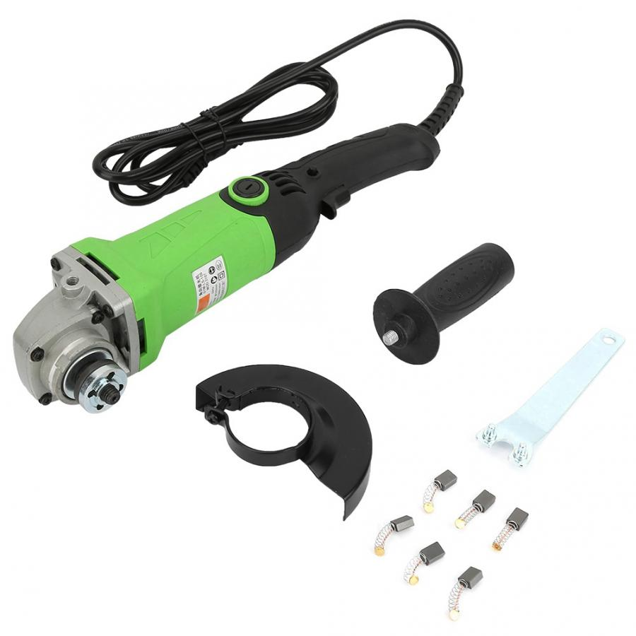 1350W Variable Speed Handheld Electric Angle Grinder Power Tool for Polishing Cutting Drilling Tool