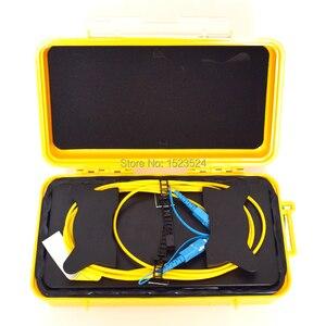 Image 2 - OTDR Dead Zone Eliminator,Fiber Rings ,Fiber Optic OTDR Launch Cable Box 1km SM 1310/1550nm