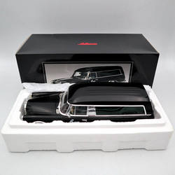 SCHUCO 1:18 Mer-es-B-nz 600 автомобиль для похорон 1965 CARRO FUNEBRE игрушки модели автомобилей черный