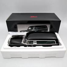 SCHUCO 1:18 Mer es B nz 600 LEICHENWAGEN BEERDIGUNG AUTO 1965 CARRO FUNEBRE Spielzeug Auto Modelle schwarz