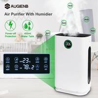 AUGIENB Large Air Purifier With Humidification Air Ionizer Generator HEPA Filter 6 Layers of Purification Air Cleaner For Home