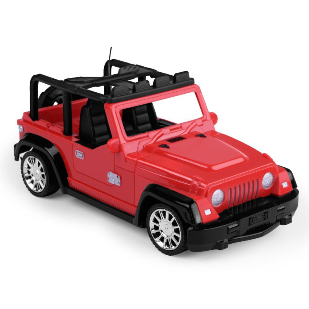 LeadingStar <font><b>1/24</b></font> <font><b>Scale</b></font> Jeep SUV Diecast Metal Remote Control <font><b>Car</b></font> Model Toy for Kids Gifts Collection Random Color image