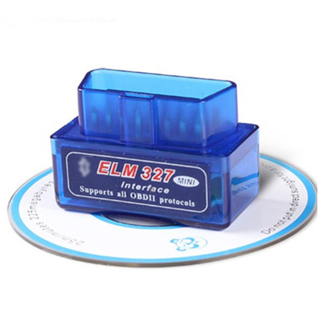 Image 4 - Mini Bluetooth Car OBDII Diagnostic Auto Scanner Tool ELM 327 V2.1 for It supports all OBD II protocols. Andriod-in Code Readers & Scan Tools from Automobiles & Motorcycles