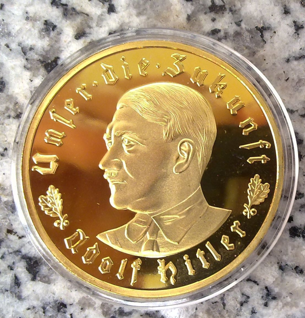 Custom 24k Gold Coin