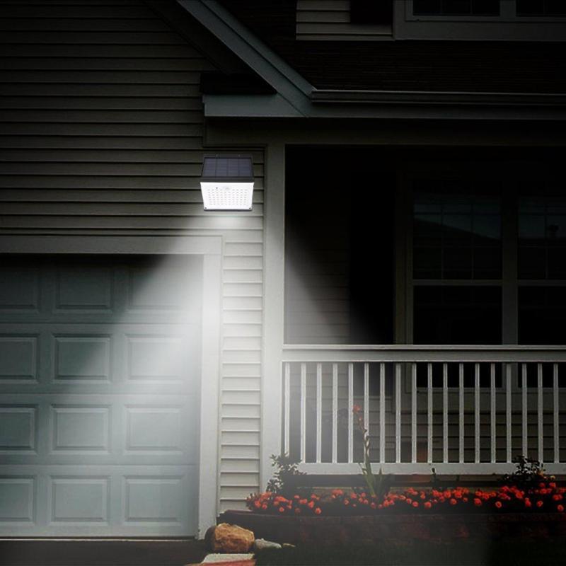 LED Solar Power Lamp Motion Sensor Waterproof Wall Light 88 LED Solar Light Outdoor Energy Saving Street Garden Security Lamp