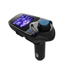 Wireless Bluetooth FM Transmitter FM Modulator HandsFree Car Kit Radio Adapter USB Charger MP3 Music Player For IPhone Samsung цена
