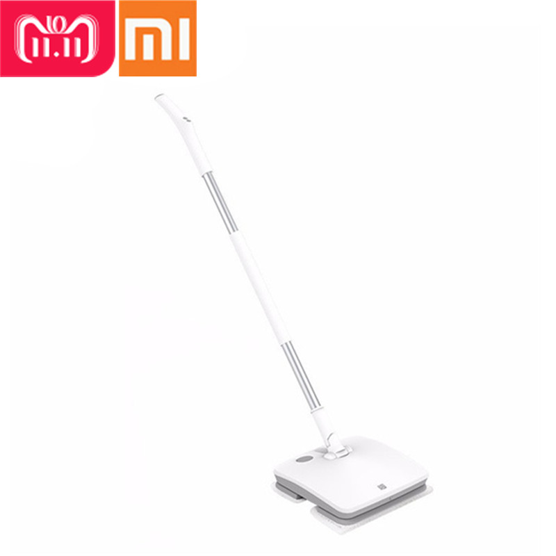 Xiaomi SWDK-D260 De Poche Électrique Vadrouille Sans Fil Mijia D'essuie-Glace Étage Laveuse Essuyage Robot de Nettoyage De Ménage Avec LED Lumière