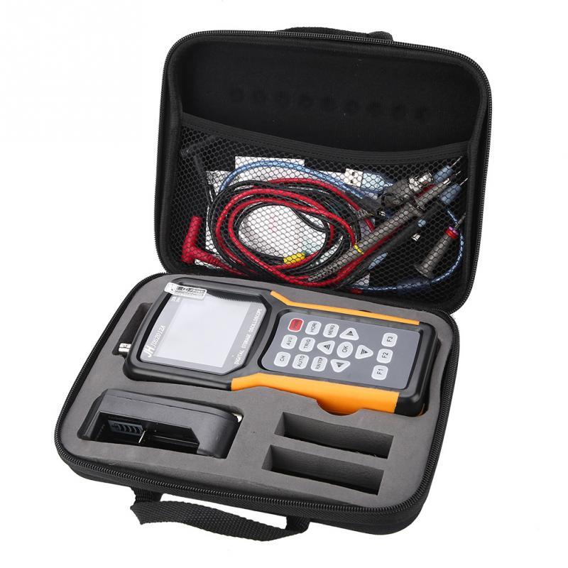 JDS2012A 100 240V 200MSas Oscilloscope LCD Digital Storage TFT Handheld 20MHz 320x240 Single Dual Chneel for