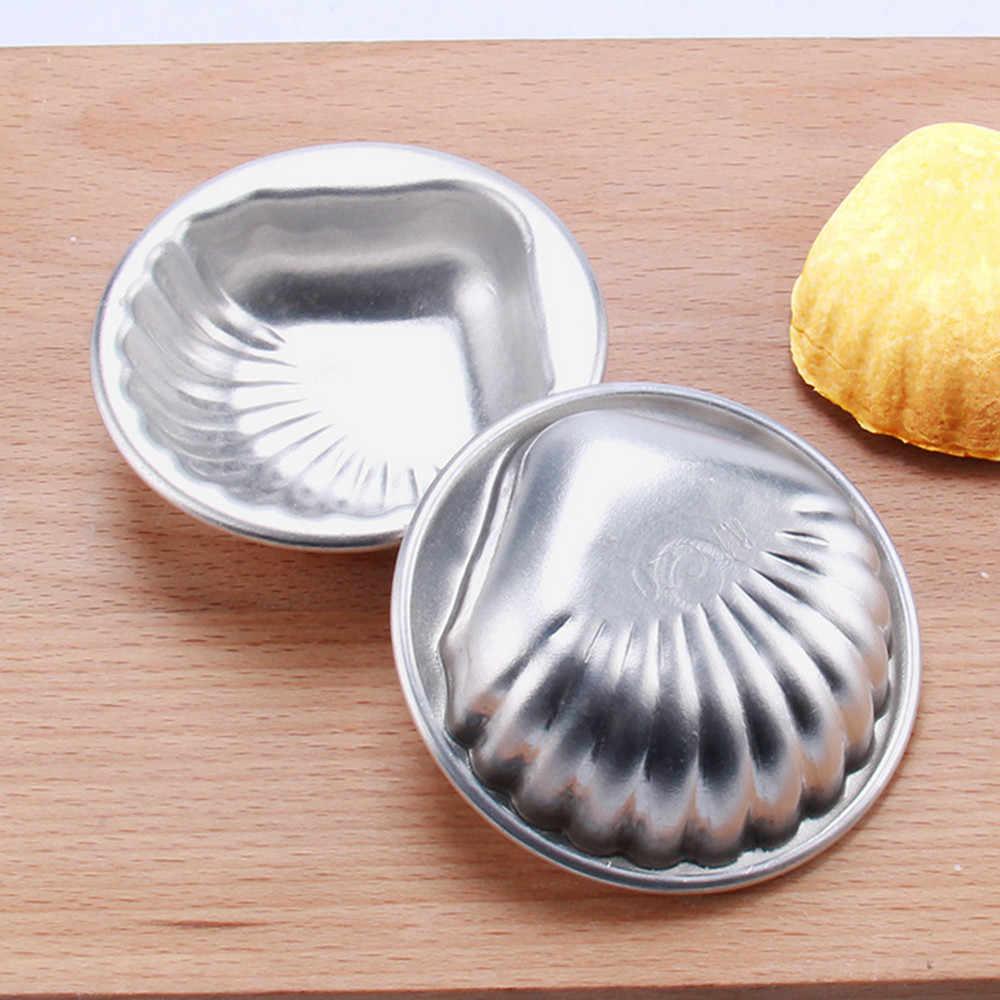 6 stylów aluminiowe foremki do ciasta 2 szt. DIY metalowa forma na kule do kąpieli wytwarzanie bomby do kąpieli ręcznie robione mydła akcesoria do ciast piłka serce rozgwiazda 3