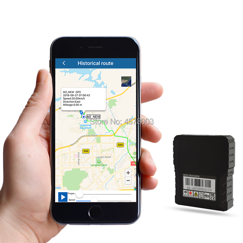 micro mini waterproof gps tracker portable handheld car gsm gprs sms tracking device for person asset vehicle-in GPS Trackers from Automobiles & Motorcycles