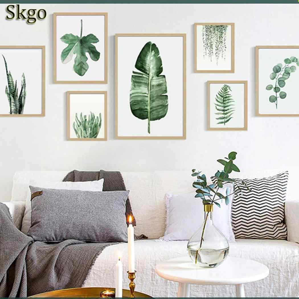 Living Modern Artwork for Wall Wall Print Art Plant Room Bedroom Room Picture Home etc Canvas Decoration