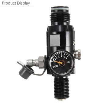 4500psi Paintball Regulator HPA High Compressed Air Tank Valve Reg Threads Paintball Accessories