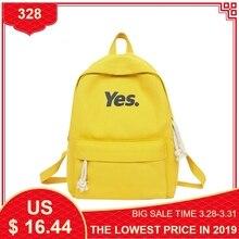 Купить с кэшбэком Fashion Canvas Backpacks Women Children Schoolbag Back Pack Leisure Ladies Knapsack Laptop Travel Bags for School Teenage Girls