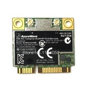 AzureWave Broadcom BCM94352HMB 802.11ac 867 Мбит/с Беспроводная AC WLAN + Bluetooth BT 4,0 полумини PCI-E беспроводная Wi-Fi карта с поддержкой Wi-Fi