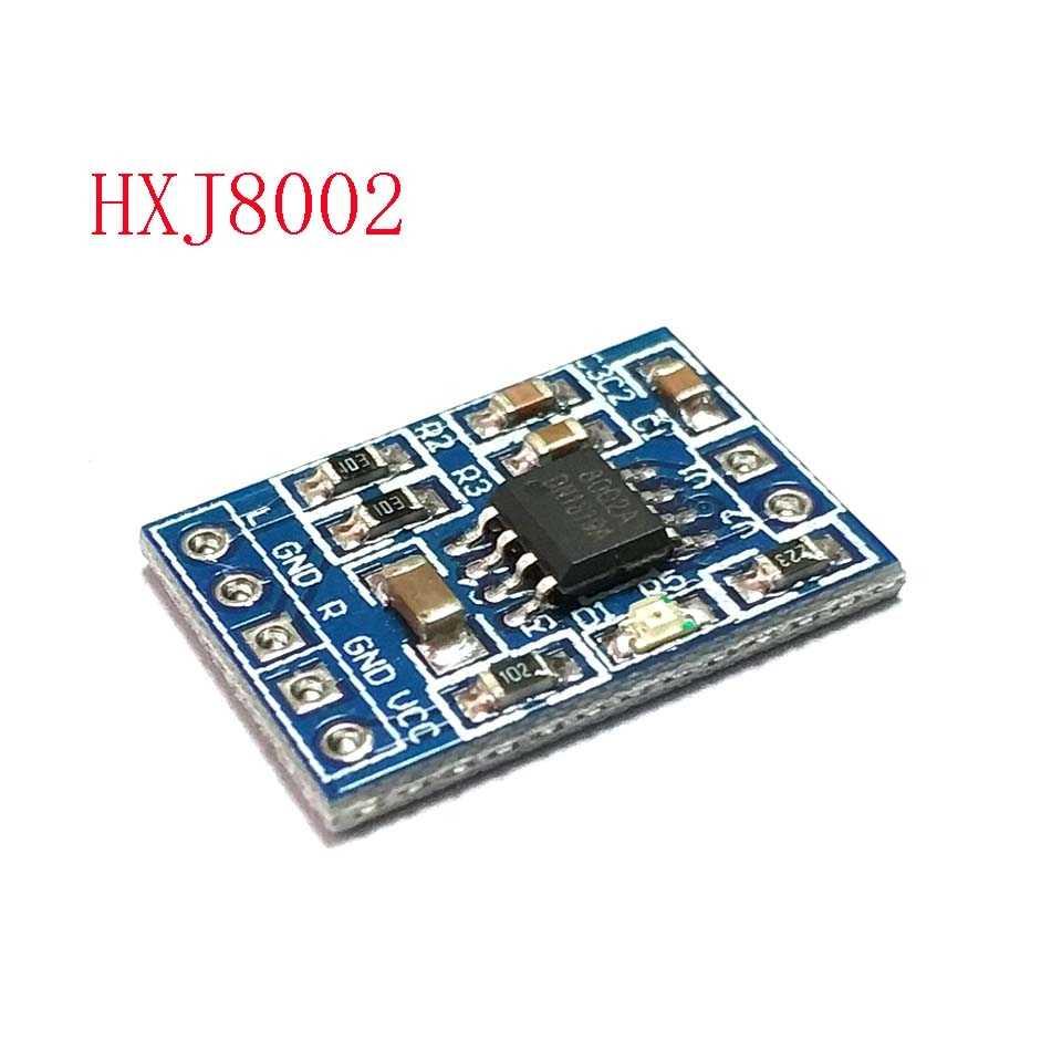 1 шт. HXJ8002 Плата усилителя мощности мини аудио усилитель голоса Модуль заменить