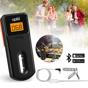 Image 5 - בשר מדחום אלחוטי Bluetooth דיגיטלי מדחום לברביקיו בישול מטבח מזון גריל מודד טמפרטורה