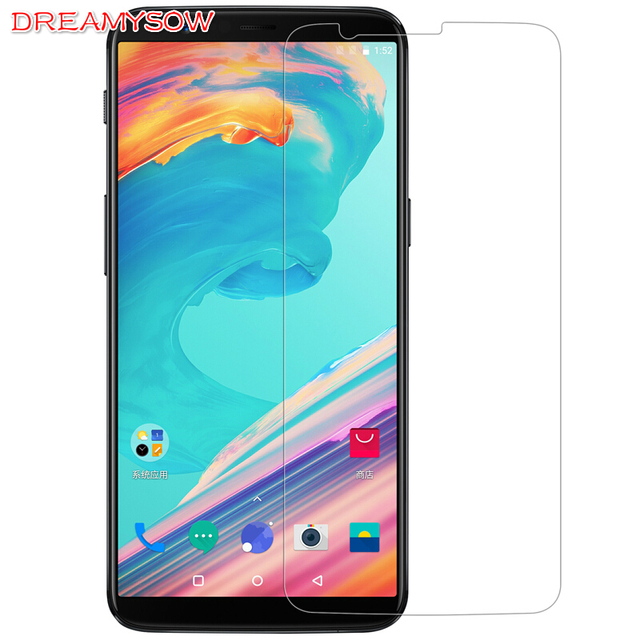 Dreamysow Premium 0.26mm 2.5D HD 9H Tempered Glass For OnePlus 5 5T 2 X One Plus 5T 6 6T 3T 9H Screen Protector cover case Film