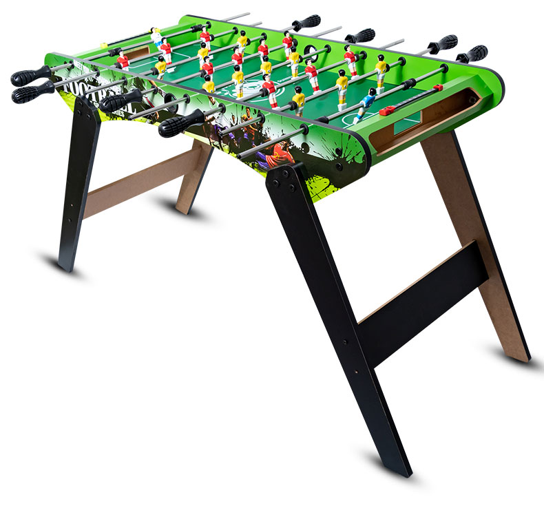 Wooden Children Tabletop Foosball Table Football Machine Double Christmas Gift Toy Boy Adult Entertainment Bar Games