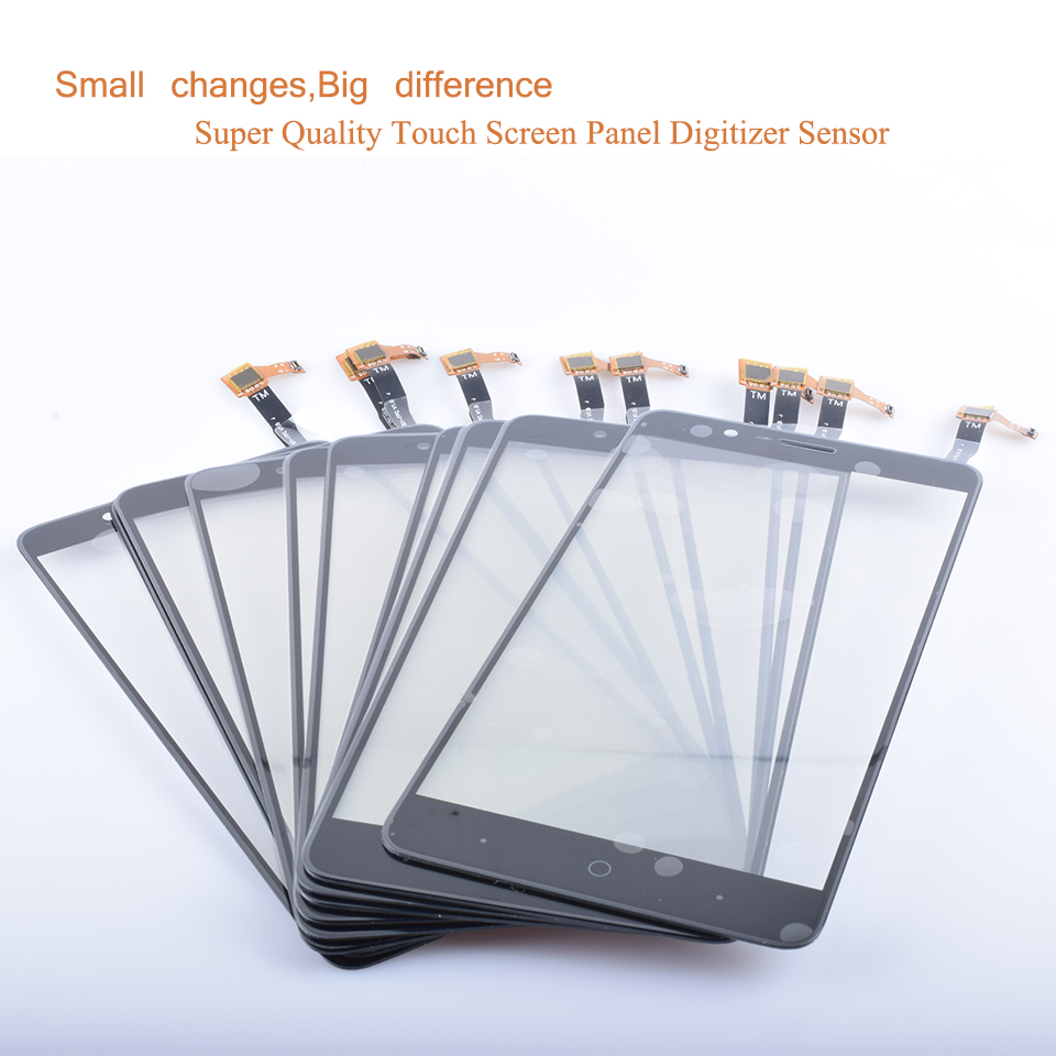 10Pcs lot Touch Screen Digitizer For ZTE Blade Z Max Z982 Touch Panel Touchscreen Lens Front Glass Sensor NO LCD Z982 Touch in Mobile Phone Touch Panel from Cellphones Telecommunications