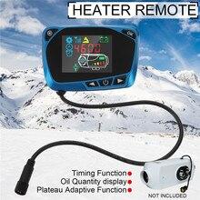 Blu 12 V/24 V LCD Monitor Interruttore Interruttore di Controllo Remoto Accessori Per Auto Pista Diesel Riscaldatore Ad Aria Riscaldatore di Parcheggio