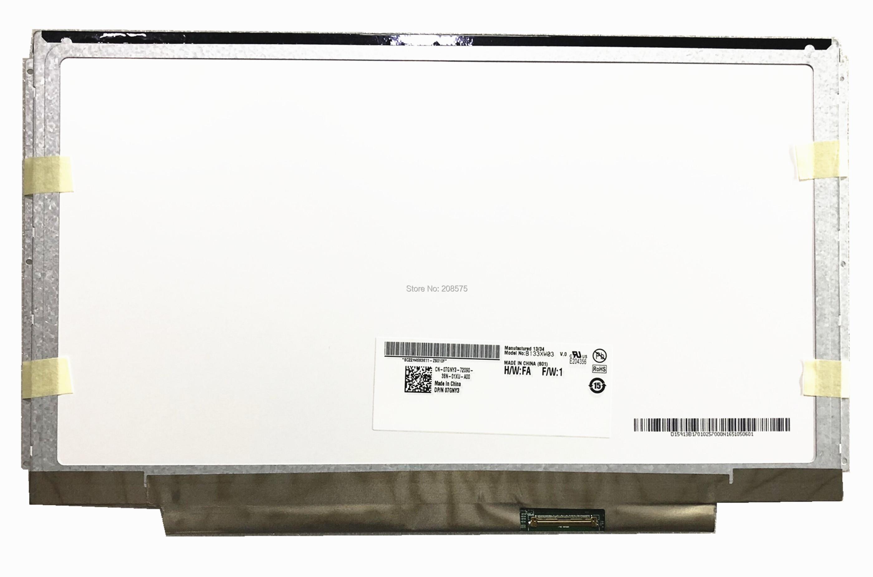 Gratis Verzending B133XW03 V0 B133XW03 V.0 V.1 N133BGE L31 L41 CLAA133WA01A N133B6 L24 LP133WH2 TLA1 LP133WH2 TLA2 LTN133AT16 40pins-in Laptop LCD Scherm van Computer & Kantoor op AliExpress - 11.11_Dubbel 11Vrijgezellendag 1