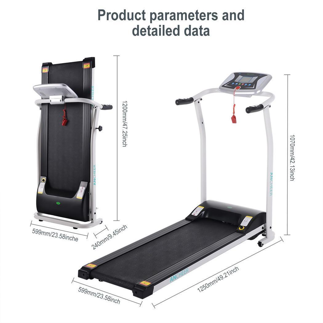 2019 nouveau tapis roulant électrique pliant entraînement mécanique en cours d'exécution Fitness tapis roulant équipement de Fitness Sport à domicile - 2