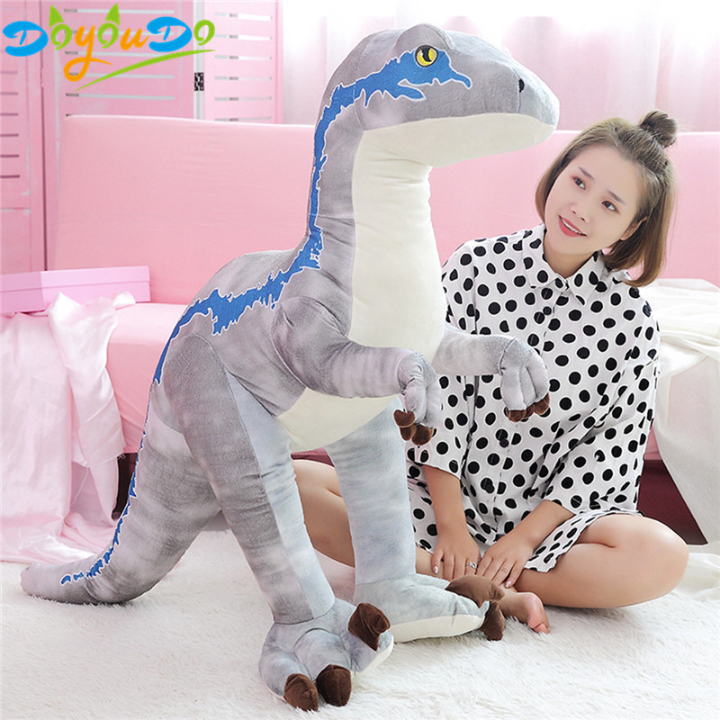1pc 130cm Gig Dinosaur Plush Toys Cartoon Tyrannosaurus Cute Gaint Stuffed Toy Dolls for Kids Children Boys Birthday Gift-in Stuffed & Plush Animals from Toys & Hobbies    1