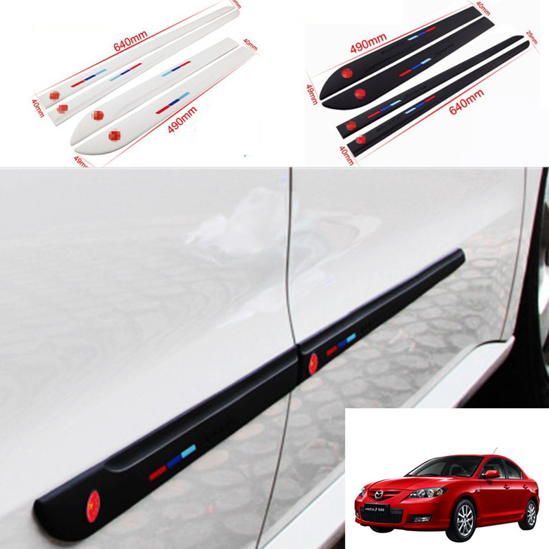 Car Styling 4pcs High Quality Brand New Side Doors Rubber