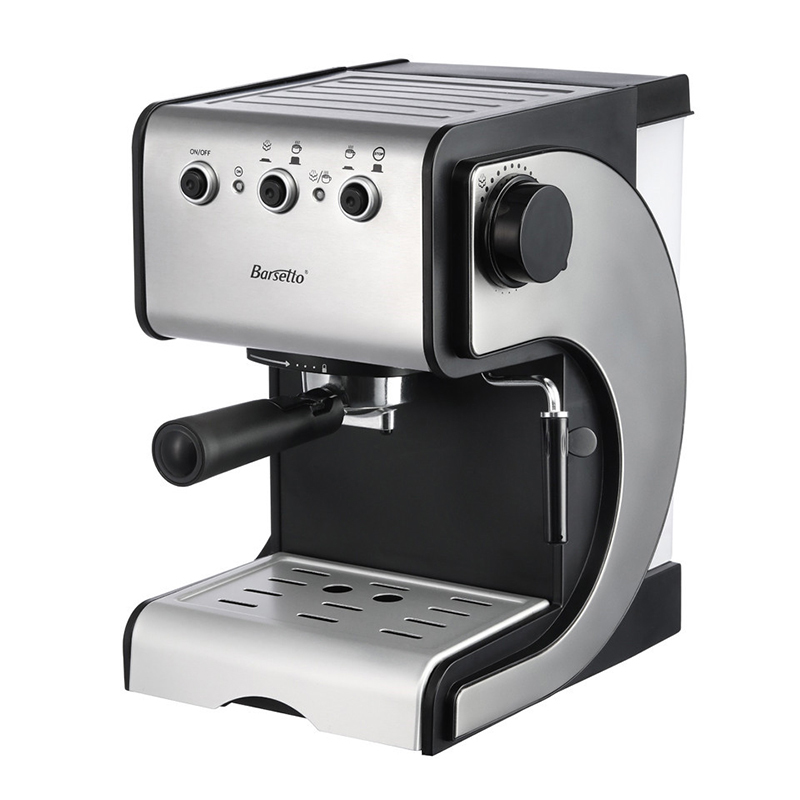 BARSETTO muti-function italy type espresso coffee maker machine with high pressure for home use-EU Plug md2007 muti function full automatic italy type espresso cappuccino coffee maker machine with high pressure steam for home use