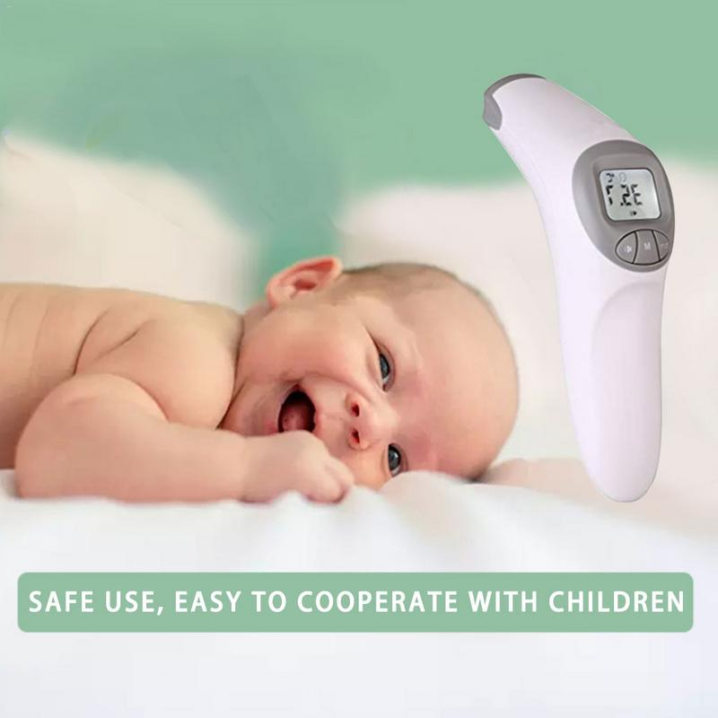 Baby Thermometer Infrared Digital LCD Body Measurement Forehead Ear Non Contact Adult Body Fever IR Children Termometro
