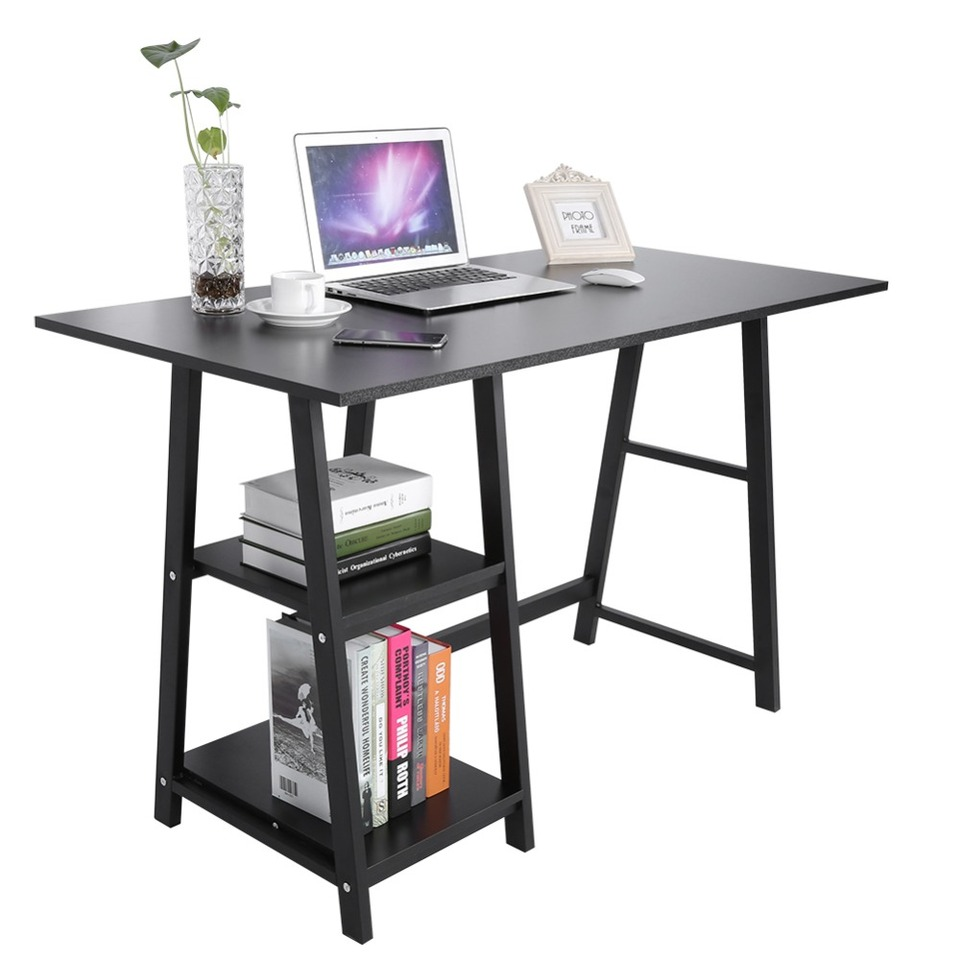 Multifuction Computer Table Storage Shelving Book Shelf Notebook