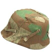 Repro WWII немецкий M35 M40 M42 Камуфляжный двусторонний Тактический шлем, защитный шлем для мужчин