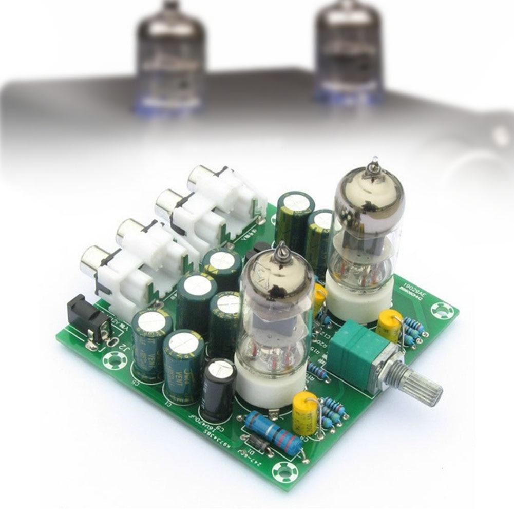 6J1 Valve Pre-amp Tube Amplifier Finished product DIY KIT+Amplifier case AC 12V