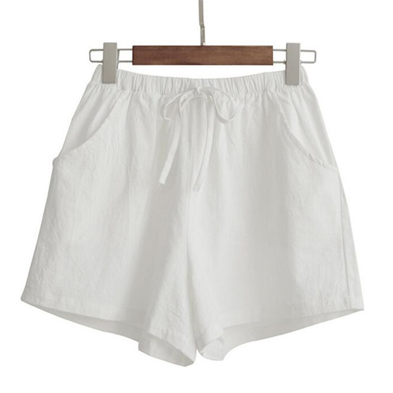 Shorts   Women Casual Ladies High Waist   Short   Pants Female With Belt Pocket Solid