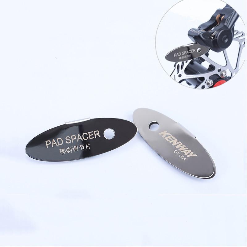 MTB Disc Brake Pads Adjusting Tool Bicycle Pads Mounting Assistant  Brake Pads Rotor Alignment Tools Spacer Bike Repair Kit 2