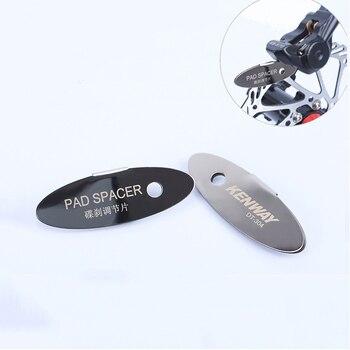 MTB Disc Brake Pads Adjusting Tool Bicycle Pads Mounting Assistant  Brake Pads Rotor Alignment Tools Spacer Bike Repair Kit 7