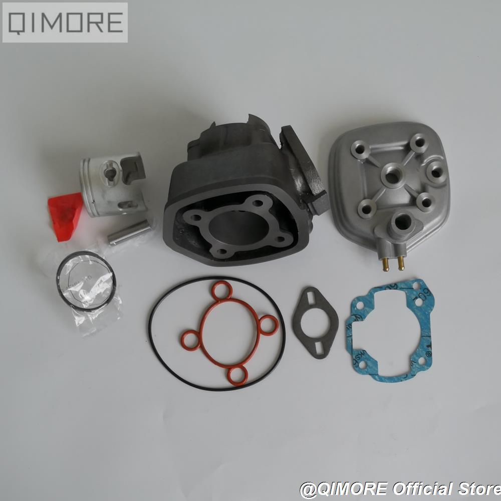 47mm Cylinder Piston Ring Set for water cooling Minarelli JOG50 ZR50 ZUMA 50 Italjet 50 Sonic 50 / MBK NITEO Aprilia SR50 SR70-in Engines from Automobiles & Motorcycles    3