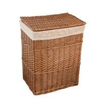 Rattan Folding Basket Seaweed Wicker Baskets Dirty Laundry Storage Basket Home Storage Simple Decoration