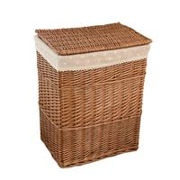 Rattan Folding Basket Seaweed Wicker Baskets Dirty Laundry Storage Basket Home Storage Simple Decoration