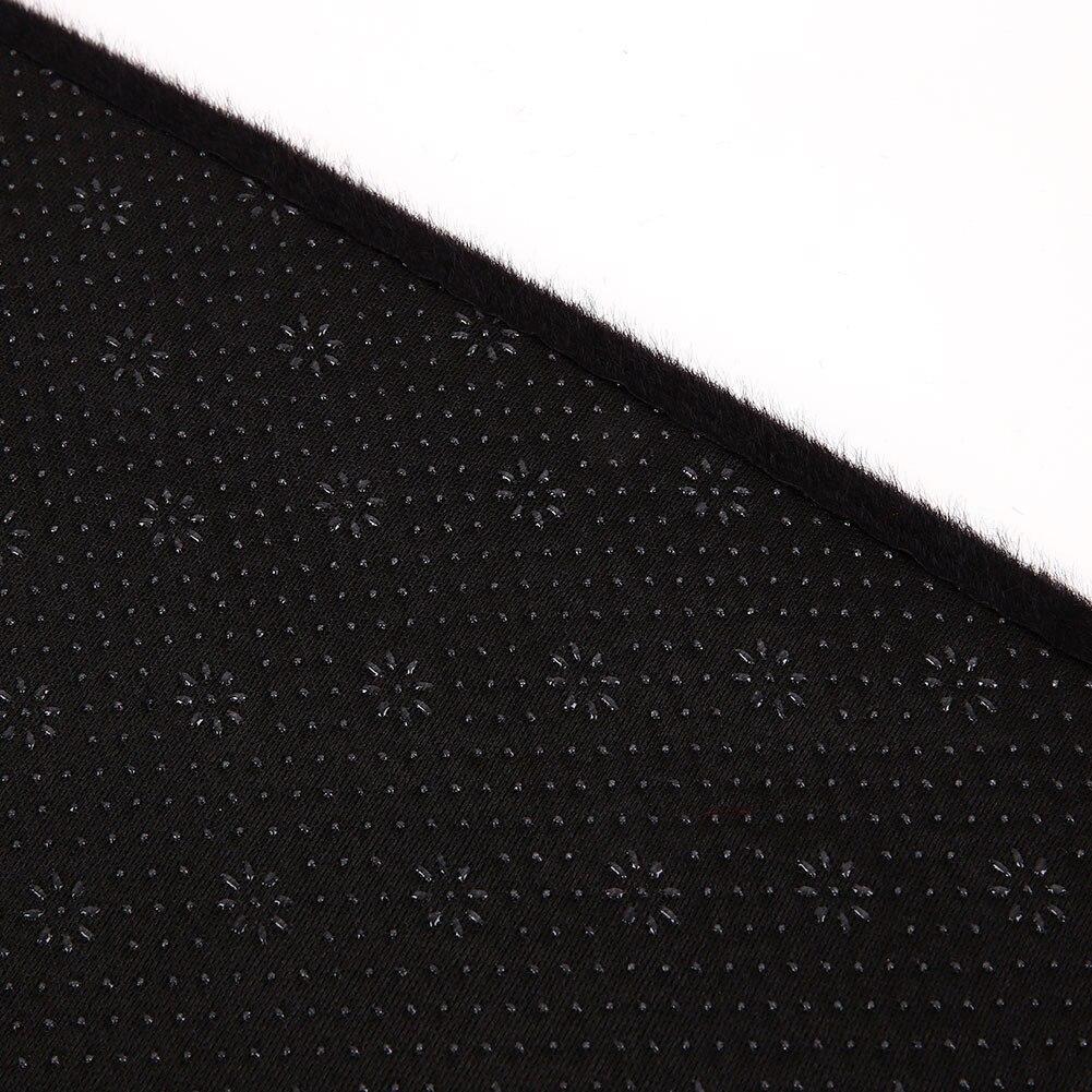 Vehemo Войлок Ткань приборная панель коврик приборная панель крышка аксессуары для автомобиля Оттенки для приборной панели коврик Солнцезащитная Накладка для машины накладка черный тире части